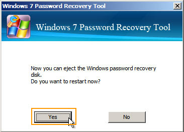 Administrator Password Reset Disk