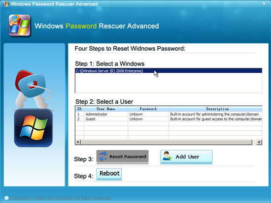 How to Recover Windows Local and Domain Accounts' Password Instantly